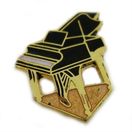 Piano Pin Badge